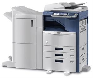 TOSHIBA e-STUDIO 457 with ADF & Dublex 3 Cassette Copier Machine